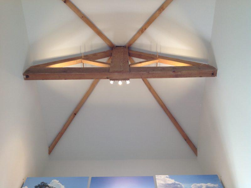 "Plafond van ""Het Kapelletje""."